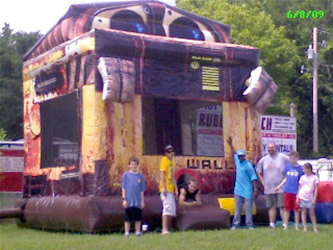 Wall-E Moon Walk